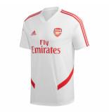 Adidas Arsenal trainingsshirt 2019-2020 white wit