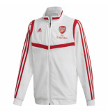 Adidas Arsenal trainingsjack 2019-2020 white wit