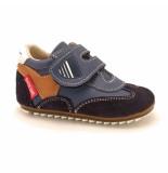 Shoesme Klittenbandschoenen flexzool blauw