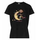 PINNED by K T-shirt 030204-moonrocket zwart