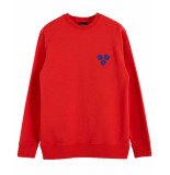 Scotch & Soda Pullover 153578 rood