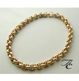 Christian Gouden jasseron collier
