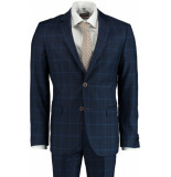 Bos Bright Blue Blue miami modern fit kostuum 191027ly09sb/290 navy