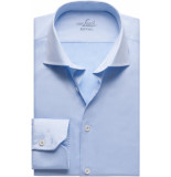 van Laack Rivara heren overhemd twill cutaway easy care slim fit