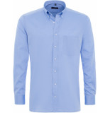 Eterna Heren overhemd fijn oxford classic button-down modern fit borstzak