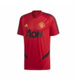 Adidas Manchester united trainingsshirt 2019-2020 red rood