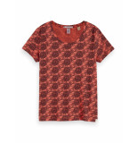 Scotch & Soda 156226 0220 printed regular fit tee combo d
