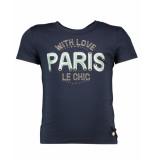 Le Chic T-shirt c911-5470 blauw