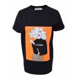 Hound T-shirt 7200166 zwart