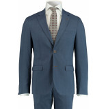 Bos Bright Blue Blue d8 milano slim fit kostuum 191028to06sb/240