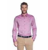 Campbell Casual overhemd met lange mouwen roze