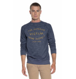 Victim Sweater blauw