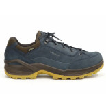 Lowa Renegade gtx lo navy/honey blauw