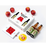 A-dam Beers & boxers gift set rood
