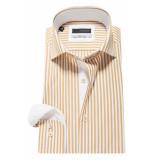 Tomasso Trendy overhemd bruin
