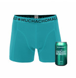 Muchachomalo Boys 1-pack short aqua blauw