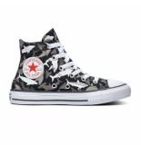 Converse All stars chuck taylor 666888c / grijs / wit zwart