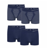 Pierre Cardin 4-pack seamless boxers blauw