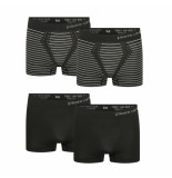 Pierre Cardin 4-pack seamless boxers zwart