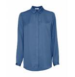 MOSS COPENHAGEN Blouse blauw