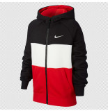 Nike Air big kids (boys) full-zip cj7855-011 zwart
