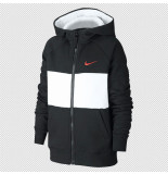 Nike Air big kids (boys) full-zip cj7855-010 zwart