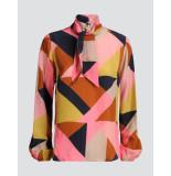 Summum 2s2357-11077 120 top bow tie graphic cupro multicolour