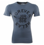 Just Relax Heren tshirt ronde hals forever slim fit antraciet