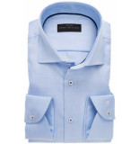 John Miller Heren overhemd licht oxford widespread tailored fit blauw