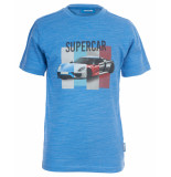 Someone T-shirt car blauw