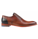 Floris van Bommel Geklede schoenen cognac
