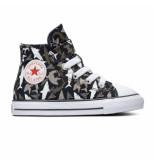 Converse All stars chuck taylor 766889c / grijs / wit zwart