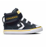 Converse All stars pro strap 666938c / geel / wit blauw