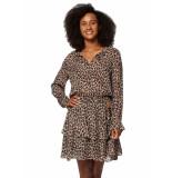 Circle of Trust Gaby dress longs bruin