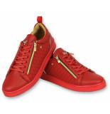 Cash Money Sneakers jailor red gold