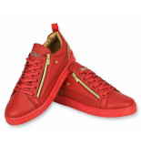 Cash Money Rode sneakers cesar red gold
