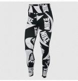 Nike Sportswear womens printed leg cj2059-010 zwart