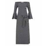 Studio Anneloes Saturday dot dress 03105 zwart
