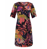 Studio Anneloes Bicky print dress 03161 rood