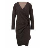 Studio Anneloes Wrap camo dress 03541 bruin