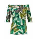 Studio Anneloes Dolly print shirt 03165 groen