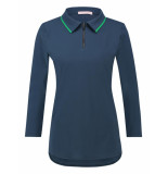 Studio Anneloes Polo piping shirt 03451