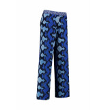 Studio Anneloes Mallorca snake trousers 03049 blauw