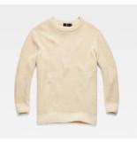G-Star D11934-a442 plush r knit geel