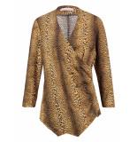 Studio Anneloes Elize leopard shirt 03513 goud