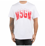 MSGM T-shirt wit