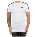 Philipp Plein T-hirt round neck hexagon white wit