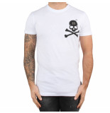 Philipp Plein T-hirt round neck original white black wit