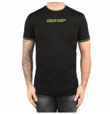 Philipp Plein T-hirt round neck tm black zwart