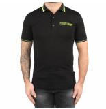 Philipp Plein Polo hirt philip plein tm black zwart